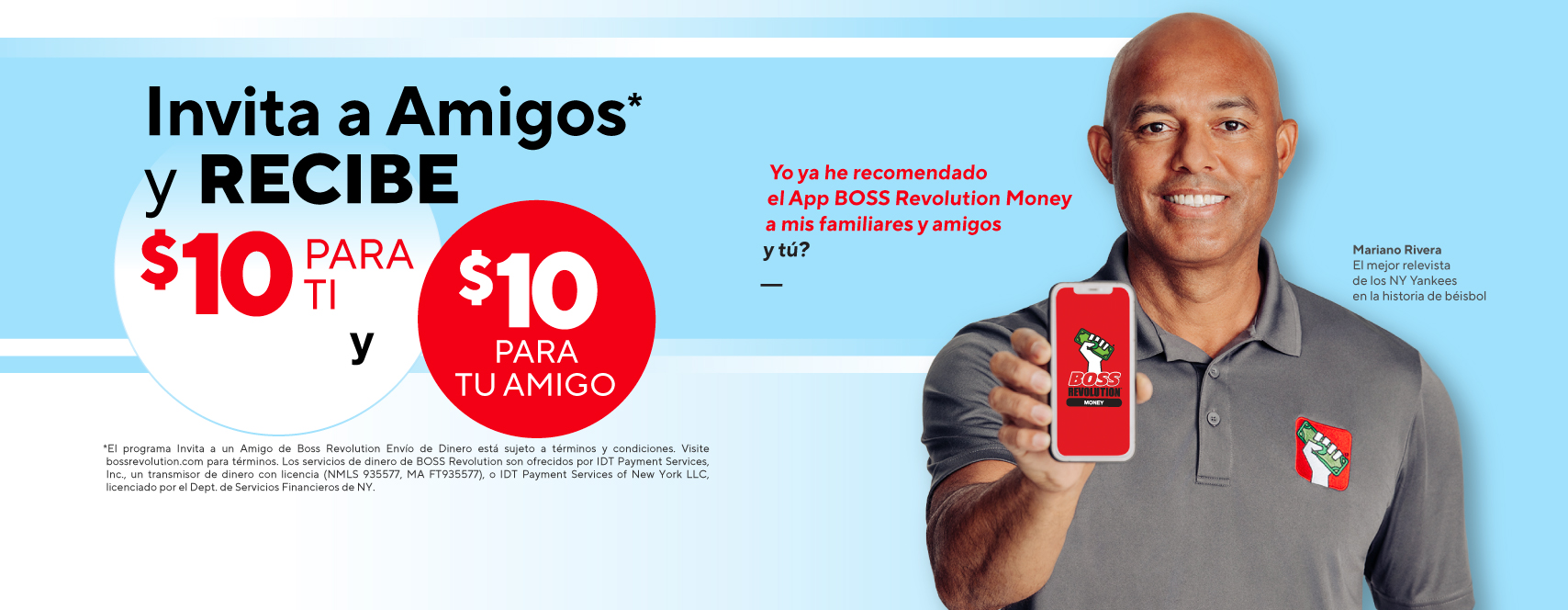 Refer a friend with BOSS Revolution